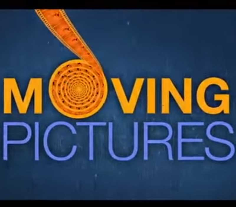 moving pictures logo animation