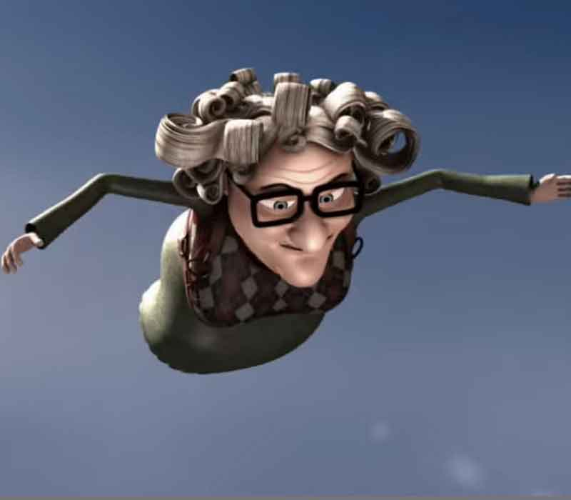 Granny vs Crannies: SKYDIVE